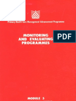 Module 5 Facilitator's Guide_Monitoring and Evaluating Programmes