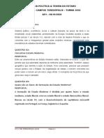 AV1 CP_TGE TERESÓPOLIS ANDRE CASTRO PROVA E TRABALHO