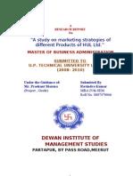 marketing strategies of different Products of HUL Ltd