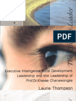 Executive Intelligence Rural Development Leadership and the Leadership of Prof.Dr.Krasae Chanawongse