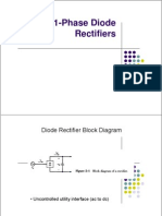1-Phase Diode Rectifiers