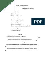 CS1201 DATA STRUCTURES