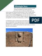 mitologia inca