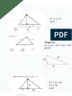 Tarea Métricas en El Triángulos Rectángulo