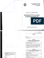 Initiere in evaluarea intreprinderilor_Marin Toma