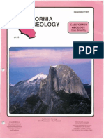 California Geology Magazine December 1991