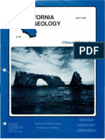 California Geology Magazine July 1991