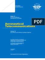 ANNEX 10 - Aeronautical Telecomunications (Volume IV)