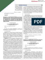 Resolución Administrativa Nº 000304-2021-CE-PJ