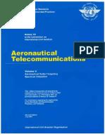 ANNEX 10 - Aeronautical Telecomunications (Volume v)