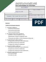 Examen Rhéologie Des MP 2021