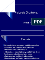 Psicosis Orgánica