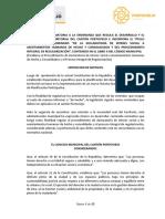 ORDENANZA REFORMATORIA A LA ORDENANZA QUE REGULA EL DESARROLLO Y EL ORDENAMIENTO TERRITORIAL DEL CANTON PORTOVIEJO E INCORPORA EL TITULO INNUMERADO DENOMINADO _DE LA DECLARATORIA DE INTERES SOCIAL A ASENTAMIENTOS H