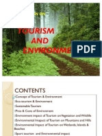 Presentation1 TOURISM AND ENVIRONMENT