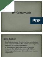 18th Century Asia
