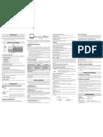 nanoKONTROL Manual