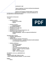 Sindromul de iritatie peritoneala