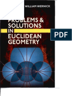 Aref, Problems and Solutions in Euclidean Geometry  1968
