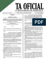 Gaceta Oficial Extraordinaria N°6.644