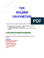 The Golden Proportion