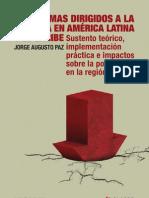 Progrmas Dirigidos a La Pobreza en America Latina
