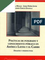 Politicas de Posgrado Marcela Mollis