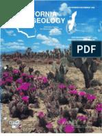 Caliornia Geology Magazine Nov-Dec 1992