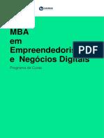 Em Pre Ended or is Moe Negocios Digit a Is
