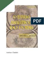 Antonio Candido - O Estudo Analítico do Poema