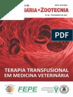 Terapia Transfusional em Medicina Veterinária