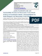 The Pitaguary Ethnicity Sociobiodiversity and Sustainability Practices in Maracanaú, Ceará, Brazil