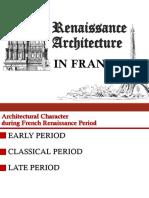 French Renaissance Architecture
