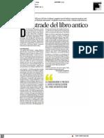 Sulle strade del libro antico - Il Corriere Adriatico del 22 settembre 2021