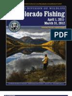 Colorado Fishing Regulations 2011