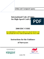HSC Code 200 - MCA Guidance for Surveyor 06.2009