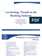 Technology Trends in the Banking Industry