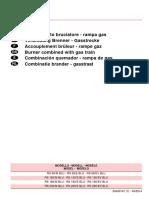 Libretto Installatore Abbinamento Bruciatore - Rampa Gas 20043101-7
