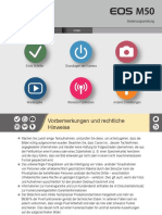 EOS M50 User Manual De