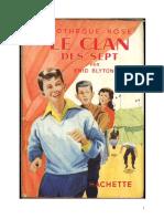 Blyton Enid Fr Le Clan Des Sept 01 Le Clan Des Sept Edition Ancienne 1956