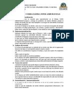 Estructura de la empresa SUPER HABURGUESAS