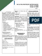 Ficha Técnica - Antipichação