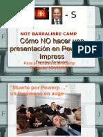 Como No Hacer Presentacion