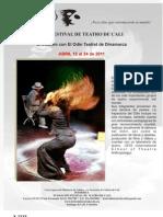PROGRAMACIÓN VIII FESTIVAL DE TEATRO
