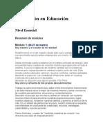 Formación en Educación Holística2011