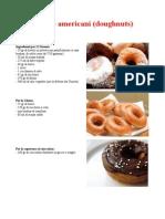Donuts americani