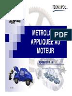 Metrologie Appliquee Au Moteur
