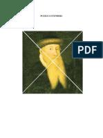 PUZZLE GUTENBERG. Ed. Infantil