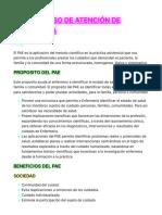 PAE, PROCESO DE ATENCIÓN DE ENFERMERÍA