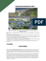 Ponte do futuro gerará energia solar e eólica