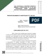 Novo relatório da reforma administrativa